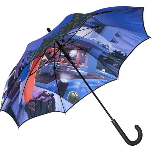 Foto: L'ultima novità del settore: gli ombrelli con stampa colormagic